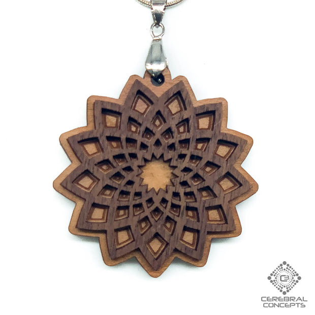 Sunburst  - Two Layer Necklace - by Cerebral Concepts