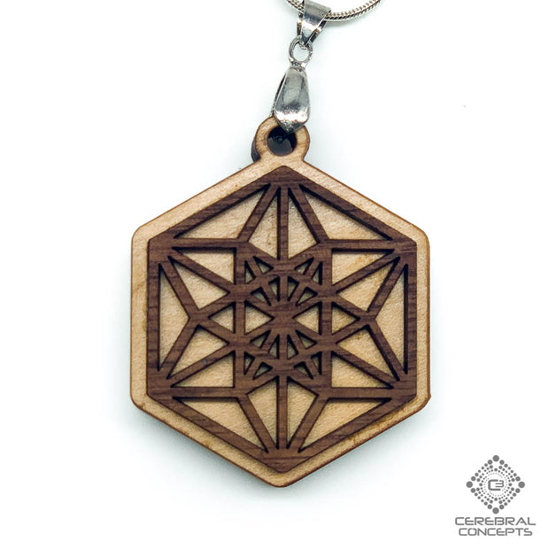 Hexagram - Two Layer Necklace - By Cerebral Concepts