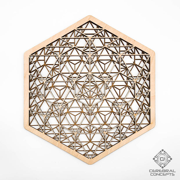 Geometric Forcefield - Layered Artwork - By Cerebral Concepts