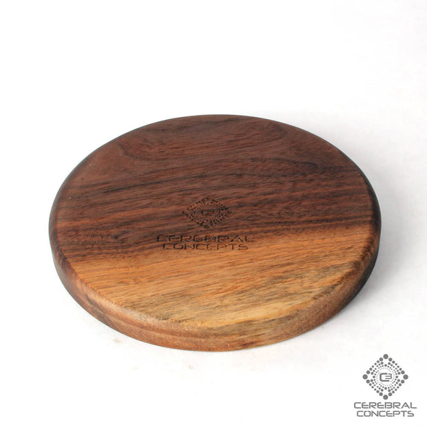 Peculiar Petals - Carved Wood Tray - By Cerebral Concepts