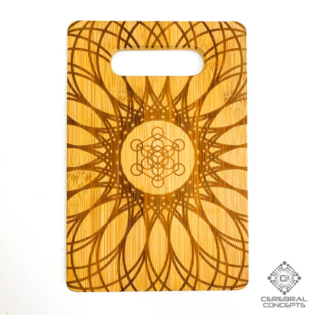 Metatron's Web - Bamboo Tray - By Cerebral Concepts
