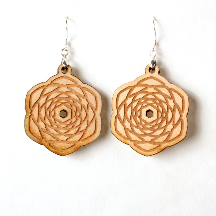 Pineal Pinecone -  Earrings