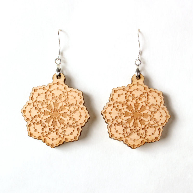 Fractal Flake - Earrings