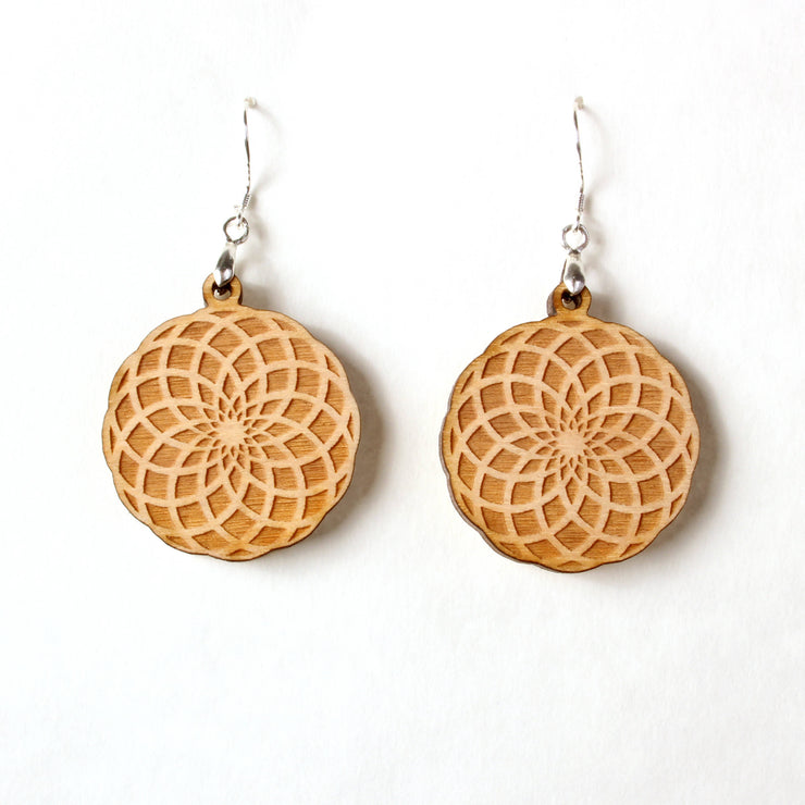 Spun Flower - Earrings