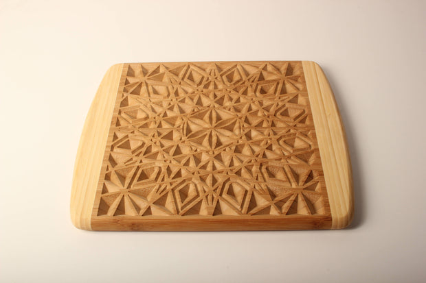 Net of Life - Bamboo Cutting Board