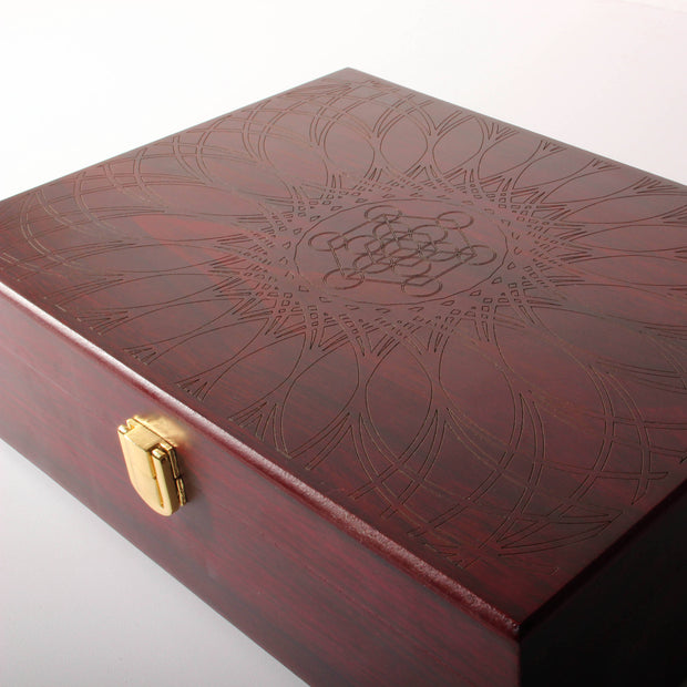 Metatron's Cube - Jewelry / Pin Box