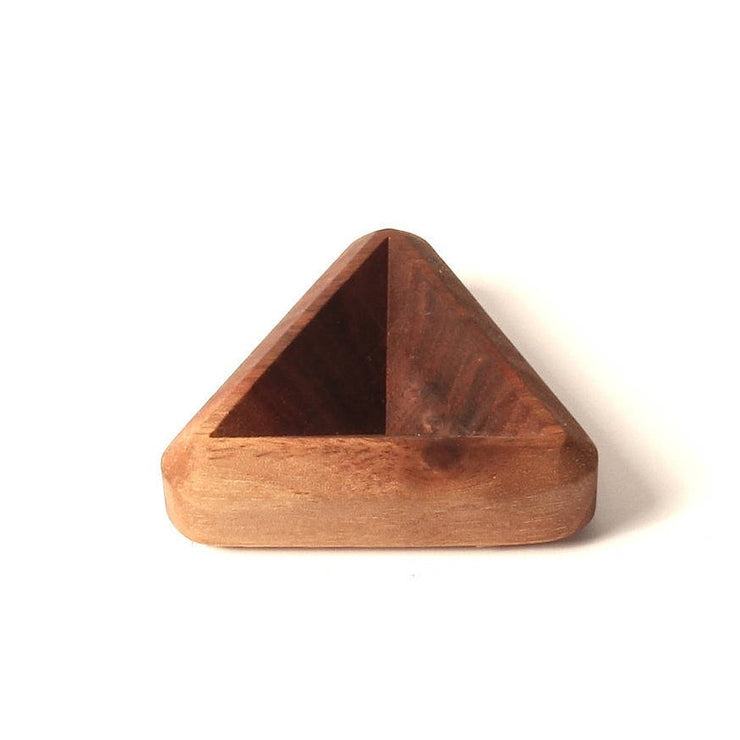 Tiny Tetrad - Carved Wood Tray - By Cerebral Concepts