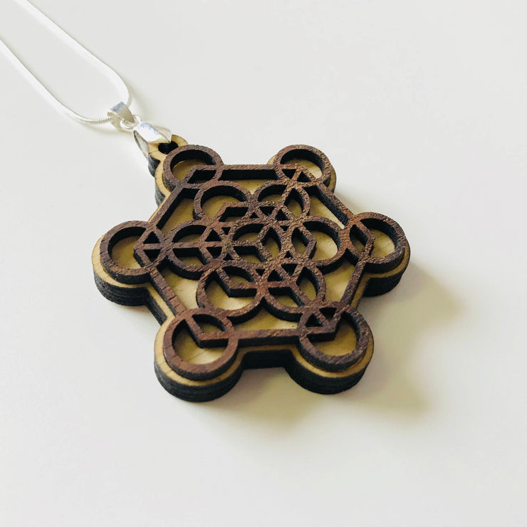 Metatron's Cube - Two Layer Necklace