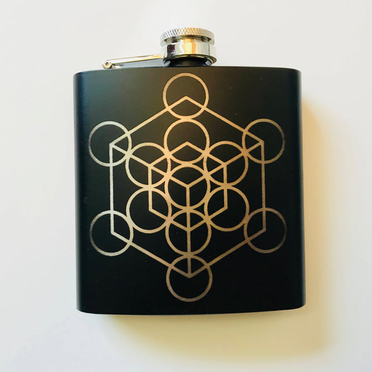 Metatron's Cube - Flask Gift Set