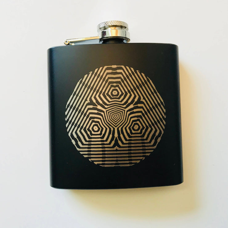Optic Triangulation - Flask - By Cassady Bell