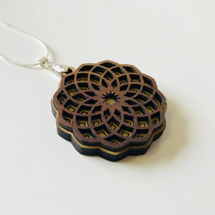 Soul Flower - Two Layer Necklace - by Cerebral Concepts