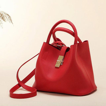 Shay Red Shoulder Bag