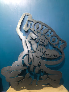 custom metal plasma cut sign made to order