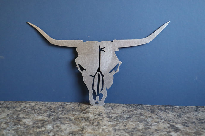 Metal Bull Head Sign