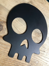 Load image into Gallery viewer, skull plasma cut metal sign
