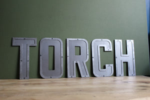 custom metal 3D style letters