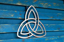Load image into Gallery viewer, celtic knot metal sign