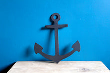 Load image into Gallery viewer, anchor plasma cut metal sign