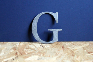 Large Metal Letter G Shop Sign Home Decor