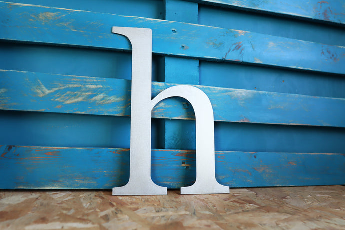 Metal Letter, Lower Case