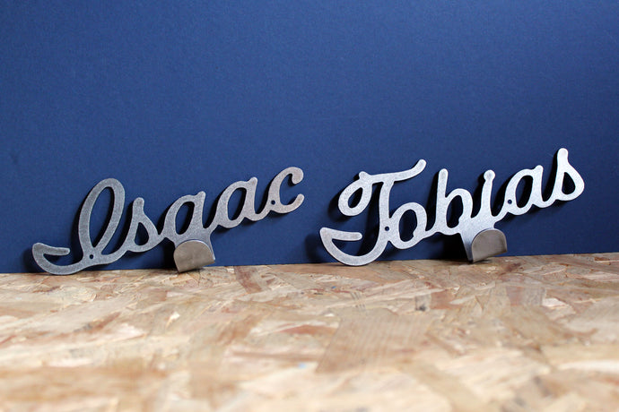 Custom Metal Name/ Word Hook