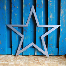 Load image into Gallery viewer, star plasma cut metal sign