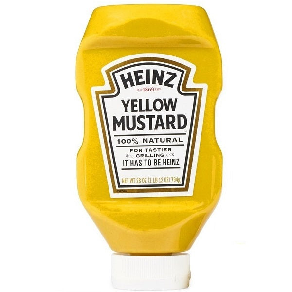 Heinz Yellow Mustard, 28 oz