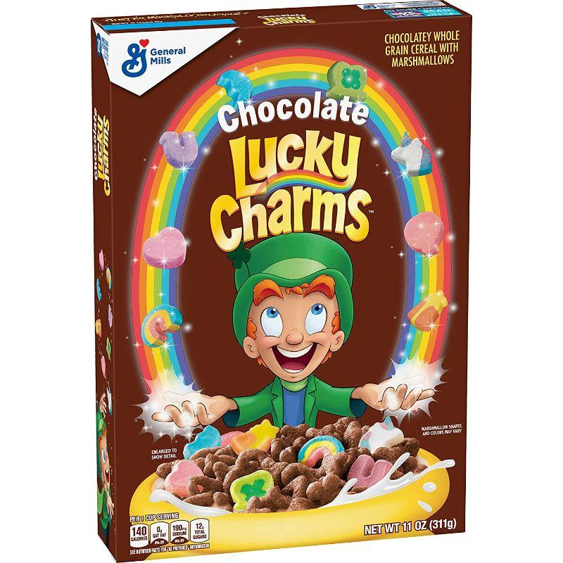 General Mills Chocolate Lucky Charms, 11 oz