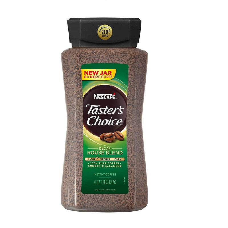 Taster's Choice Instant Coffee Decaff, 14 oz