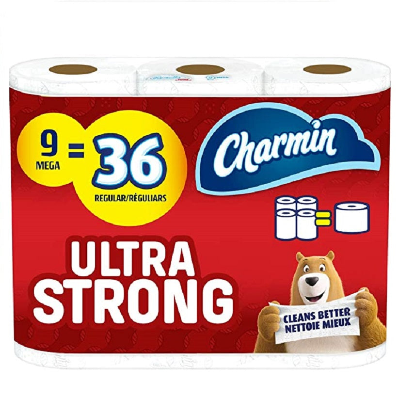 Charmin Ultra Strong, 9 ct