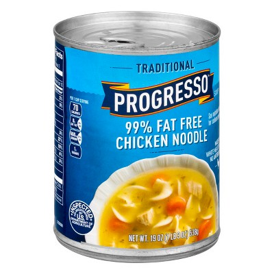 Progresso Fat Free Chicken Noodle, 19 oz