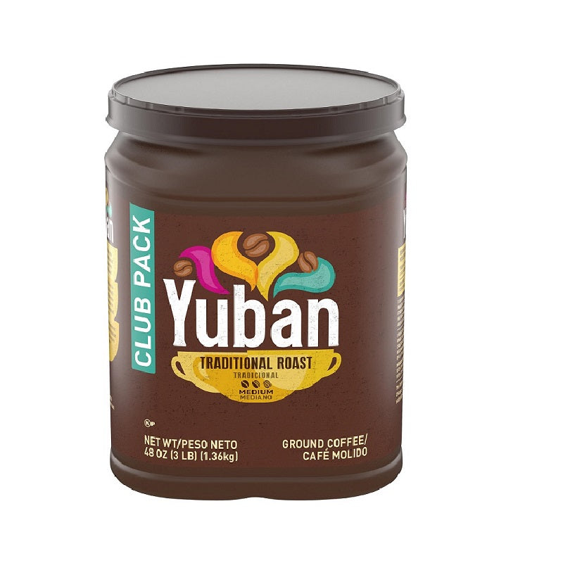 Yuban Traditional Roast Ground Coffee, 48 oz (BB: 30-1-2020)