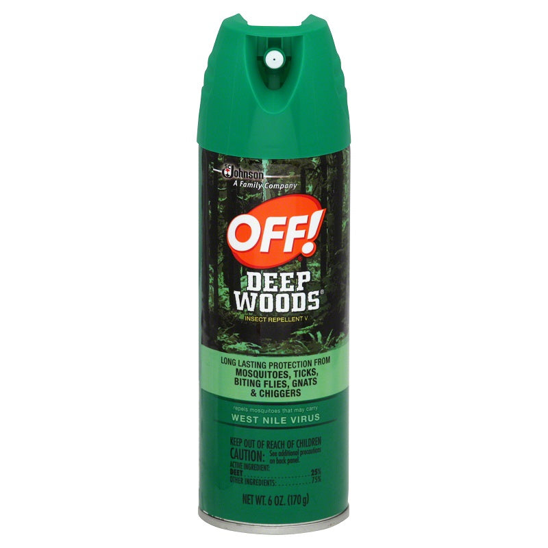 OFF! Deep Woods Insect Repellent V, 6 oz