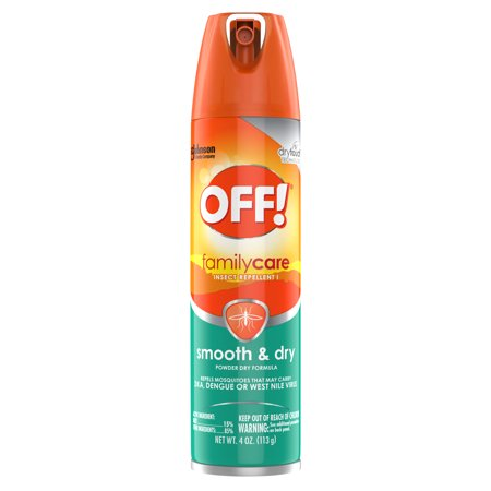 OFF! Family Care Insect Repellent Smooth & Dry, 4 oz