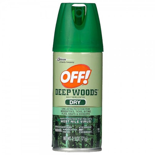 OFF! Deep Woods Insect Repellent VIII Dry, 6 oz