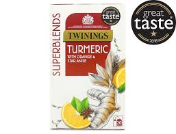 Twinings Super Blends Turmeric, 20 Bags