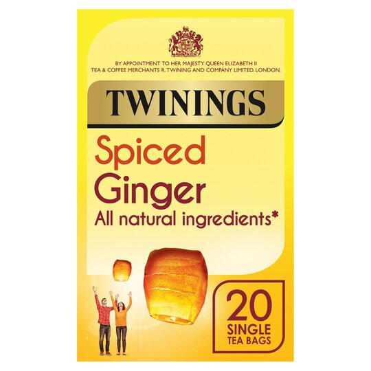 Twinings Spiced Ginger, 20 ct
