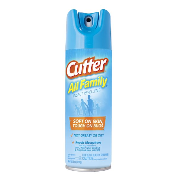 Cutter All Family Insect Repellent, 6 oz