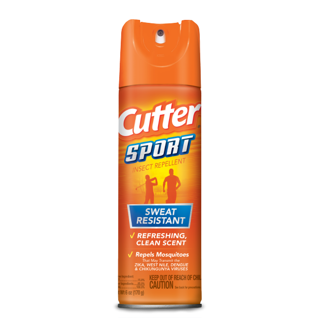 Cutter Sport Insect Repellent Sweat Resistant , 6 oz