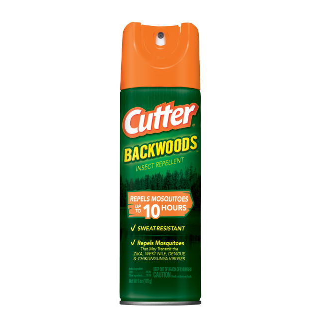 Cutter Backwoods Insect Repellent, 6 oz