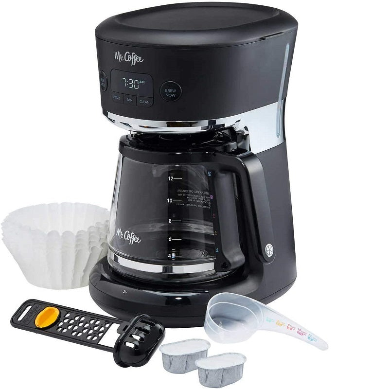 Mr. Coffee Easy Measure Programmable Coffee Maker, 12 cups