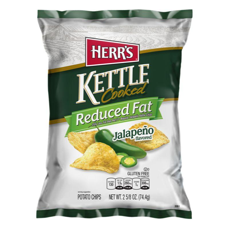 Herr's Chips Kettle Cooked Jalapeno, 1.13 oz