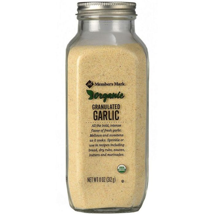 M.M. Organic Garlic Granulated, 11 oz