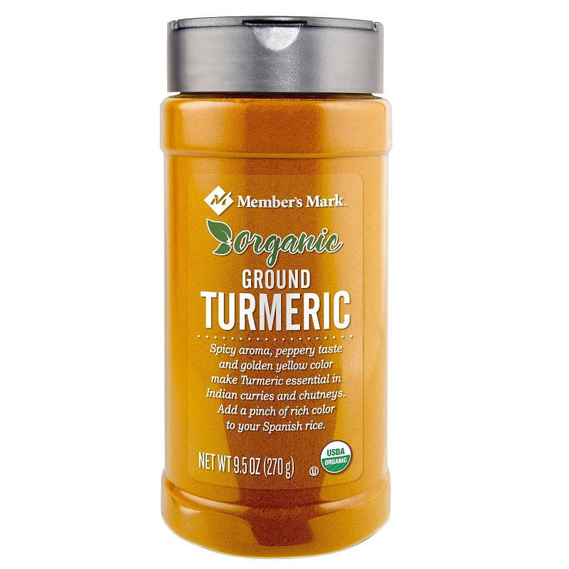 Member's Mark Organic Ground Turmeric, 9.5 oz