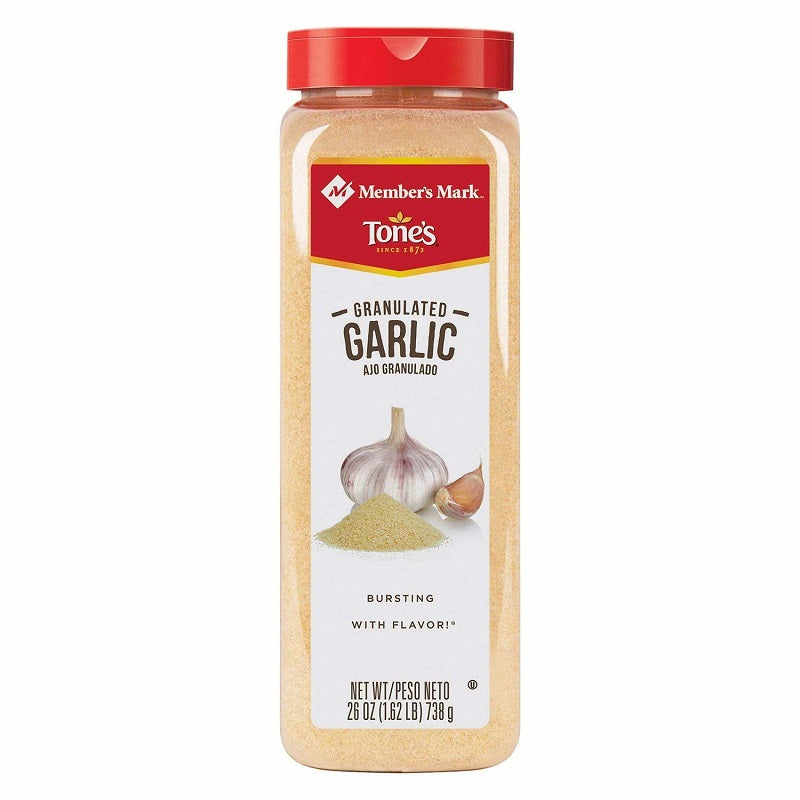 Member's Mark Tone's Granulated Garlic, 26 oz