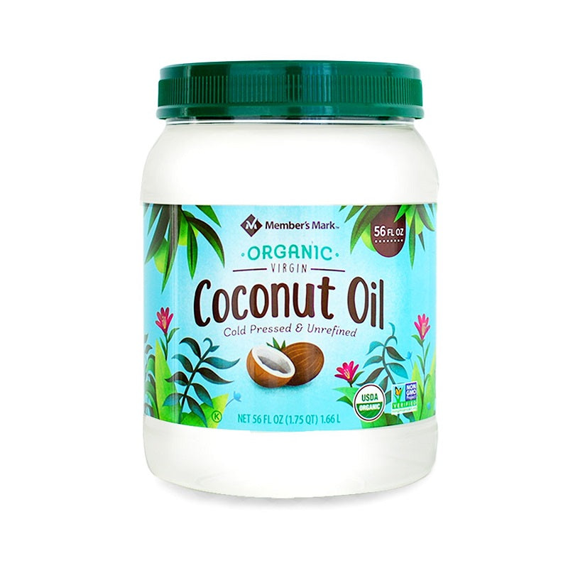 Member's Mark Organic Virgin Coconut Oil, 56 oz