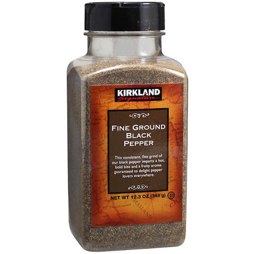 Kirkland Signature, Fine Ground Black Pepper 12.3Oz
