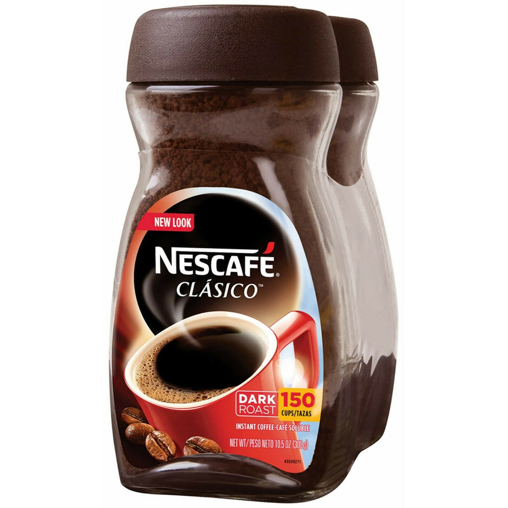 Nescafe Classico Instant Coffee, 2x 10.5 oz