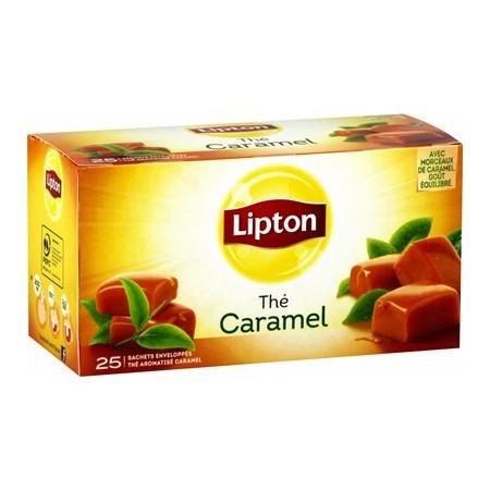 Lipton Tea Caramel, 25 Bag