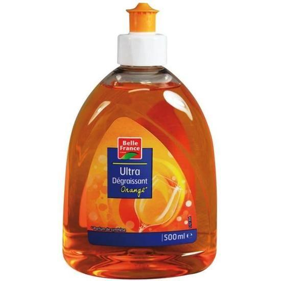Belle France Dishwashing Liquid Orange 500 ml